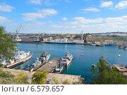 Морской порт (судоремонтный завод) (2014 год). Стоковое фото, фотограф Елена Железкова / Фотобанк Лори