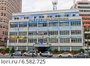 Купить «Полицейский участок района Jungbu в Пусане, Южная Корея», фото № 6582725, снято 26 сентября 2014 г. (c) Иван Марчук / Фотобанк Лори