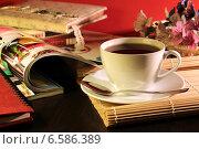 Купить «Кофейная композиция», фото № 6586389, снято 25 октября 2014 г. (c) Виктор Топорков / Фотобанк Лори