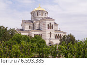 Купить «Свято-Владимирский кафедральный собор в Херсонесе. Севастополь.», фото № 6593385, снято 16 июня 2014 г. (c) Полина Бойко / Фотобанк Лори
