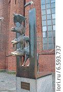 Купить «Рига. Памятник бременским музыкантам», эксклюзивное фото № 6593737, снято 11 октября 2014 г. (c) Svet / Фотобанк Лори