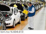 Купить «Wolfsburg, Germany, Volkswagen factory, production of the Golf 6 and the Tiguan, final», фото № 6604613, снято 8 марта 2010 г. (c) Caro Photoagency / Фотобанк Лори