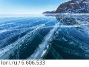Купить «Зимний Байкал», фото № 6606533, снято 9 марта 2012 г. (c) Виктория Катьянова / Фотобанк Лори