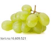 Green grape bunch. Стоковое фото, фотограф Natalja Stotika / Фотобанк Лори