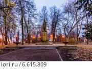 Купить «Памятник Петру I. Измайловский остров», фото № 6615809, снято 1 ноября 2014 г. (c) Павел Лиховицкий / Фотобанк Лори