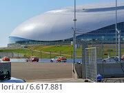 Купить «Первые официальные гоночные заезды на трассе автодрома в Сочи, 13 сентября 2014 года», эксклюзивное фото № 6617881, снято 13 сентября 2014 г. (c) Александр Замараев / Фотобанк Лори
