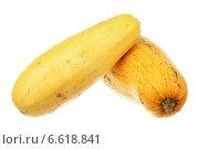 Купить «Два спелых кабачка», фото № 6618841, снято 3 ноября 2014 г. (c) Игорь Веснинов / Фотобанк Лори