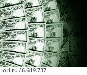 Купить «Американские доллары», фото № 6619737, снято 24 октября 2019 г. (c) ElenArt / Фотобанк Лори