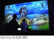 Купить «Экспозиция «Моя история. Рюриковичи». Центральный выставочный зал «Манеж». Москва», эксклюзивное фото № 6628985, снято 5 ноября 2014 г. (c) lana1501 / Фотобанк Лори