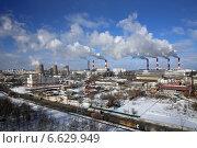 Московская ТЭЦ-21 (2013 год). Редакционное фото, фотограф Алексей Гусев / Фотобанк Лори