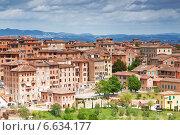 Купить «Сиена, Тоскана, Италия», фото № 6634177, снято 11 мая 2014 г. (c) Наталья Волкова / Фотобанк Лори