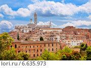Купить «Сиена. Тоскана, Италия», фото № 6635973, снято 11 мая 2014 г. (c) Наталья Волкова / Фотобанк Лори
