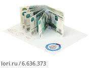 Купить «Письмо из налоговой службы», эксклюзивное фото № 6636373, снято 8 ноября 2014 г. (c) Игорь Веснинов / Фотобанк Лори