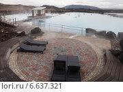 Купить «Природная купальня Myvatn в Исландии (Северная лагуна), спа», фото № 6637321, снято 21 июня 2014 г. (c) Anna P. / Фотобанк Лори