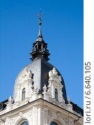 Рига, фрагмент здания в стиле модерн (2014 год). Стоковое фото, фотограф Юлия Бабкина / Фотобанк Лори