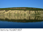 Берег Волги в районе Самары. Стоковое фото, фотограф Вадим Князев / Фотобанк Лори