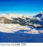 Горнолыжный курорт в швейцарских Альпах (2013 год). Стоковое фото, фотограф Роман Бабакин / Фотобанк Лори