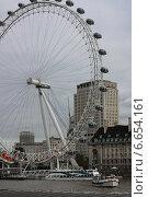 Купить «London Eye. Лондонский Глаз», фото № 6654161, снято 25 октября 2014 г. (c) Ivanova Irina / Фотобанк Лори