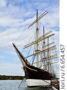 Купить «Pommern, первоначально Mneme (1903—1908), парусник - «винджаммер», четырёхмачтовый барк, построен в 1903», фото № 6654457, снято 23 августа 2014 г. (c) Валерия Попова / Фотобанк Лори