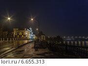 Ярославль. Набережная реки Волга ранним утром (2014 год). Стоковое фото, фотограф Алексей Мельников / Фотобанк Лори