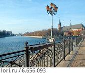 Купить «Набережная в Рыбной деревне. Калининград», эксклюзивное фото № 6656093, снято 4 ноября 2014 г. (c) Svet / Фотобанк Лори