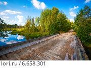 Осенний пейзаж в Карелии. Стоковое фото, фотограф Alexander Shadrin / Фотобанк Лори