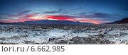 Закат в Долине смерти, Америка (2014 год). Стоковое фото, фотограф Liseykina / Фотобанк Лори