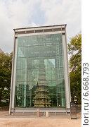 Купить «Мраморная пагода (1467 г.) храма Wongaksa в Сеуле, Южная Корея. Статус – Национальное Сокровище №2», фото № 6668793, снято 27 сентября 2014 г. (c) Иван Марчук / Фотобанк Лори