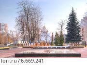 Купить «Город Реутов. Вечный огонь», фото № 6669241, снято 4 ноября 2014 г. (c) Parmenov Pavel / Фотобанк Лори
