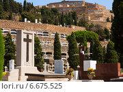Купить «Montjuic Cemetery in Barcelona», фото № 6675525, снято 20 июля 2014 г. (c) Яков Филимонов / Фотобанк Лори