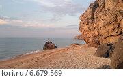 Купить «Берег Азовского моря», фото № 6679569, снято 17 августа 2018 г. (c) Светлана / Фотобанк Лори