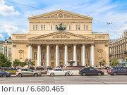 Купить «Москва, Большой театр», фото № 6680465, снято 4 июля 2014 г. (c) Владимир Сергеев / Фотобанк Лори