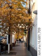 Купить «Осень в Москве», фото № 6681709, снято 7 сентября 2014 г. (c) Татьяна Кахилл / Фотобанк Лори