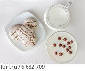 Белая еда (вид сверху) Стоковое фото, фотограф Анна Губина / Фотобанк Лори