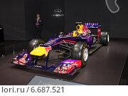 Купить «Red Bull RB10 на ММАС 2014 (Infiniti Red Bull racing)», фото № 6687521, снято 3 сентября 2014 г. (c) Алексей Назаров / Фотобанк Лори
