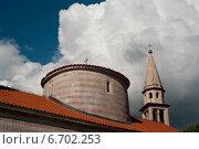 Старая церковь. Стоковое фото, фотограф Евгений Макеев / Фотобанк Лори