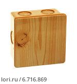 Купить «Закрытая распределительная коробка», фото № 6716869, снято 26 ноября 2014 г. (c) Игорь Веснинов / Фотобанк Лори