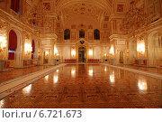 Александровский зал Большого Кремлевского дворца в Москве (2014 год). Редакционное фото, фотограф Алексей Гусев / Фотобанк Лори
