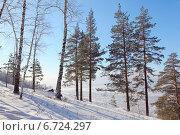 Купить «Вид на город Миасс сверху», фото № 6724297, снято 8 февраля 2014 г. (c) Виталий Горелов / Фотобанк Лори