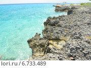 Купить «Чистейшая вода Карибского моря», фото № 6733489, снято 17 июня 2014 г. (c) Александр Овчинников / Фотобанк Лори