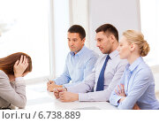Купить «businesswoman getting fired in office», фото № 6738889, снято 5 апреля 2014 г. (c) Syda Productions / Фотобанк Лори