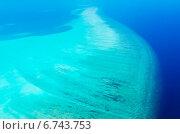 Мальдивские острова вид сверху (2014 год). Стоковое фото, фотограф Воевудский Евгений / Фотобанк Лори