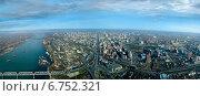 Панорама Новосибирска. Стоковое фото, фотограф Василий Васильев / Фотобанк Лори