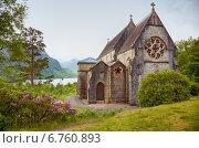 Купить «Church in Glenfinnan», фото № 6760893, снято 22 июня 2010 г. (c) Serg Zastavkin / Фотобанк Лори