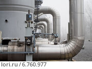 Подготовка газа. Стоковое фото, фотограф Anton Paley / Фотобанк Лори