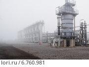Подготовка газа на ПХГ. Стоковое фото, фотограф Anton Paley / Фотобанк Лори
