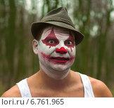 Ужасный клоун. Стоковое фото, фотограф Дмитрий Ильин / Фотобанк Лори