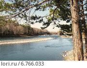 Река Катунь Горный Алтай. Стоковое фото, фотограф Василий Васильев / Фотобанк Лори