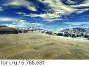 Купить «Чужая планета. Скалы и небо», иллюстрация № 6768681 (c) Parmenov Pavel / Фотобанк Лори