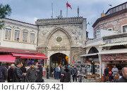 Купить «Торговый комплекс Гранд базар в Стамбуле, Турция», фото № 6769421, снято 27 ноября 2014 г. (c) Александр Фрейдин / Фотобанк Лори